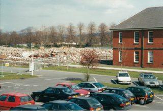 Calderstones Demolition - in 2000. | David Whalley