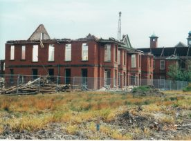 Demolition of Calderstones