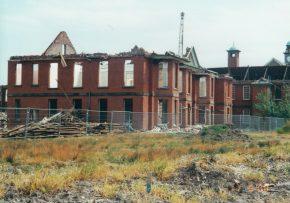 Demolition of Calderstones