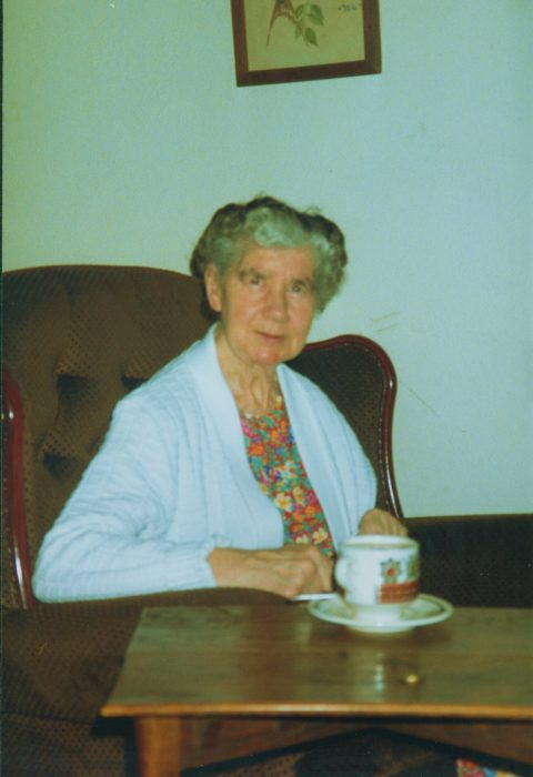 Peggy Palmer at home after leaving the Royal Albert Hospital, Lancaster.  | Courtesy of Jewli Winder