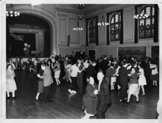 A dance at Calderstones in the main hall. Probably in the 1960s. | Courtesy of David Fitzpatrick