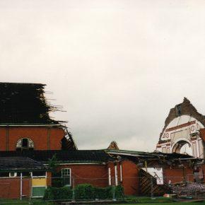 Demolition of the Main Hall at Calderstones   G E Makinson