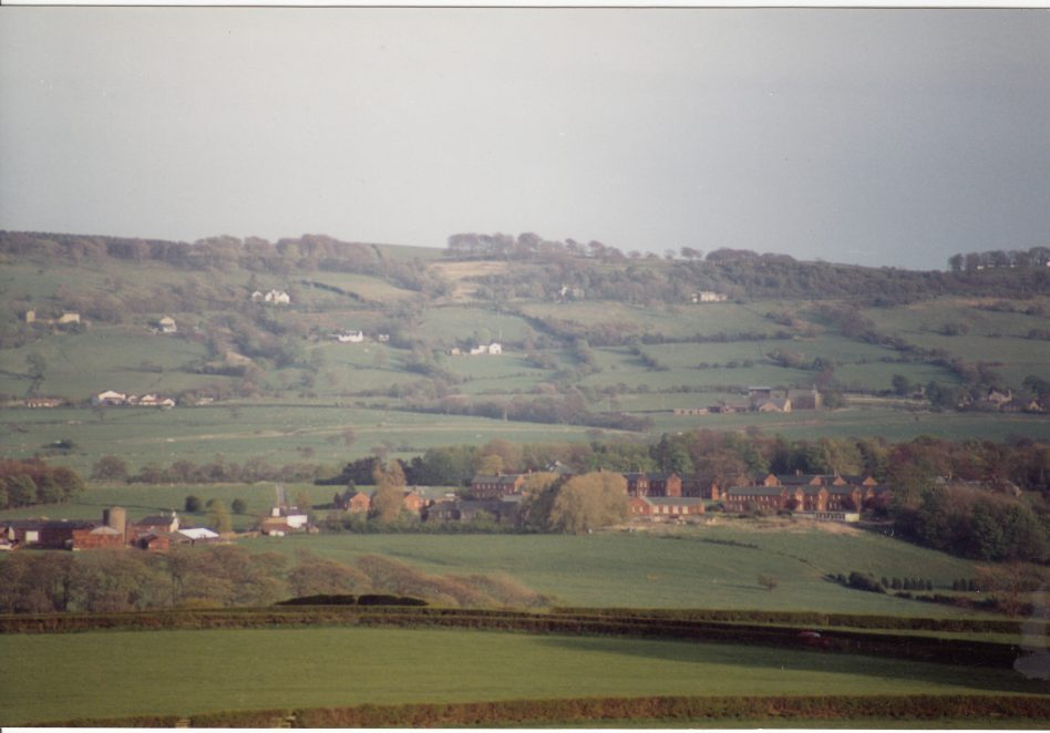 Brockhall as viewed from nearby Stoneyhurst College. | Courtesy of Brenda Kay