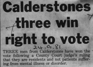 Clitheroe Advertiser Headline September 24th 1981 | Courtesy of Clitheroe Advertiser