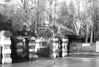 The Gate House at Calderstones. Unsure of date.    Courtesy of Duncan Mitchell