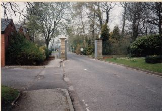 The main entrance to Brockhall. This was taken in 1993, just after closure.  | Lancashire County Council Museums Service