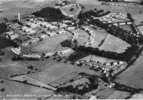 Aerial View - Brockhall