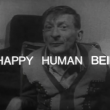 'A Happy Human Being'