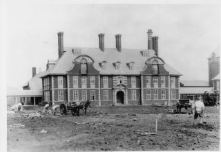 Brockhall Main Building -  possibly in the early 1900s.  | Brenda Kay