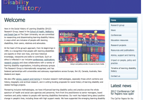 Social History of Learning Disability Timelines