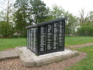 Brockhall Hospital Cemetery and memorial in 2016.  | Pathways Associates