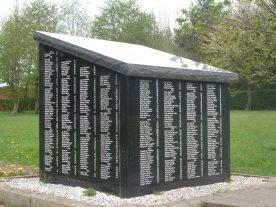 Brockhall Hospital Cemetery Memorial Inscription