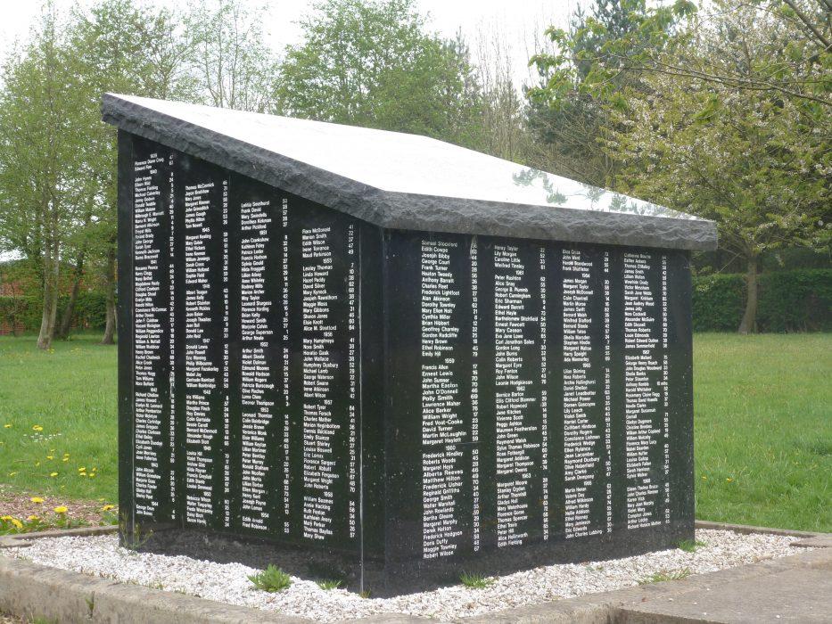 Brockhall Hospital Cemetery Memorial 2016.  | Pathways Associates
