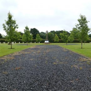 The Commonwealth War Graves cemetery. (July 15th 2016) | Pathways Associates CIC
