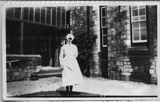 Elizabeth Parkinson, Senior Nurse (Sister) on Rodgett Infirmary at the Royal Albert Institution 1929 | Courtesy of Mrs Maureen Gerrard