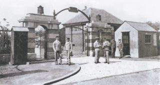 The entrance to Calderstones in the 1920s.  | Mersey Care NHS Trust