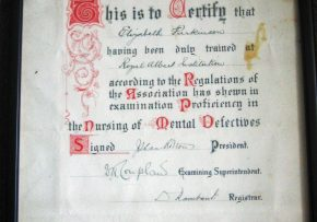 1927 Nursing Exam
