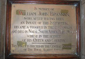 'In memory of William John Brannan'