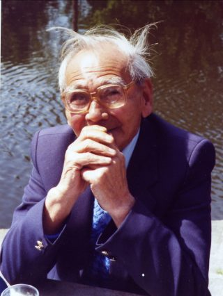 Frank Cochrane in 1989, sitting by the Lancaster Canal.  | Nigel Ingham