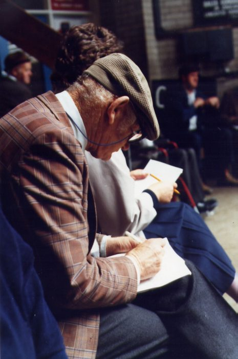 Jack Fletcher at Lancaster Auction Mart. 1989 | Nigel Ingham