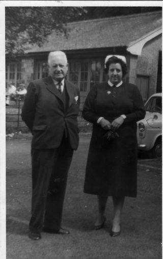 Matron Wareing. Royal Albert Hospital, c. 1960s.  | Mrs Creed