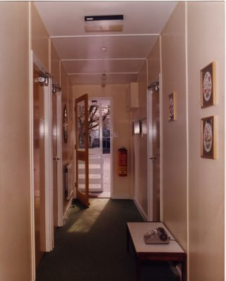 Inside one of the Bungalows at the Royal Albert. 1980s.  | Lancashire County Museums Service