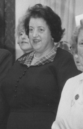 Mrs Wareing - probably taken during the 1960s.  | Courtesy of Lancashire County Council Museums Service