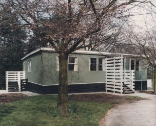 Bungalow at the Royal Albert. 1980s.  | Lancashire County Museums Service