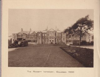 Rodgett Infirmary, Royal Albert Institution 1930. Image from Royal Albert Institution Annual Report 1930.  | Nigel Ingham